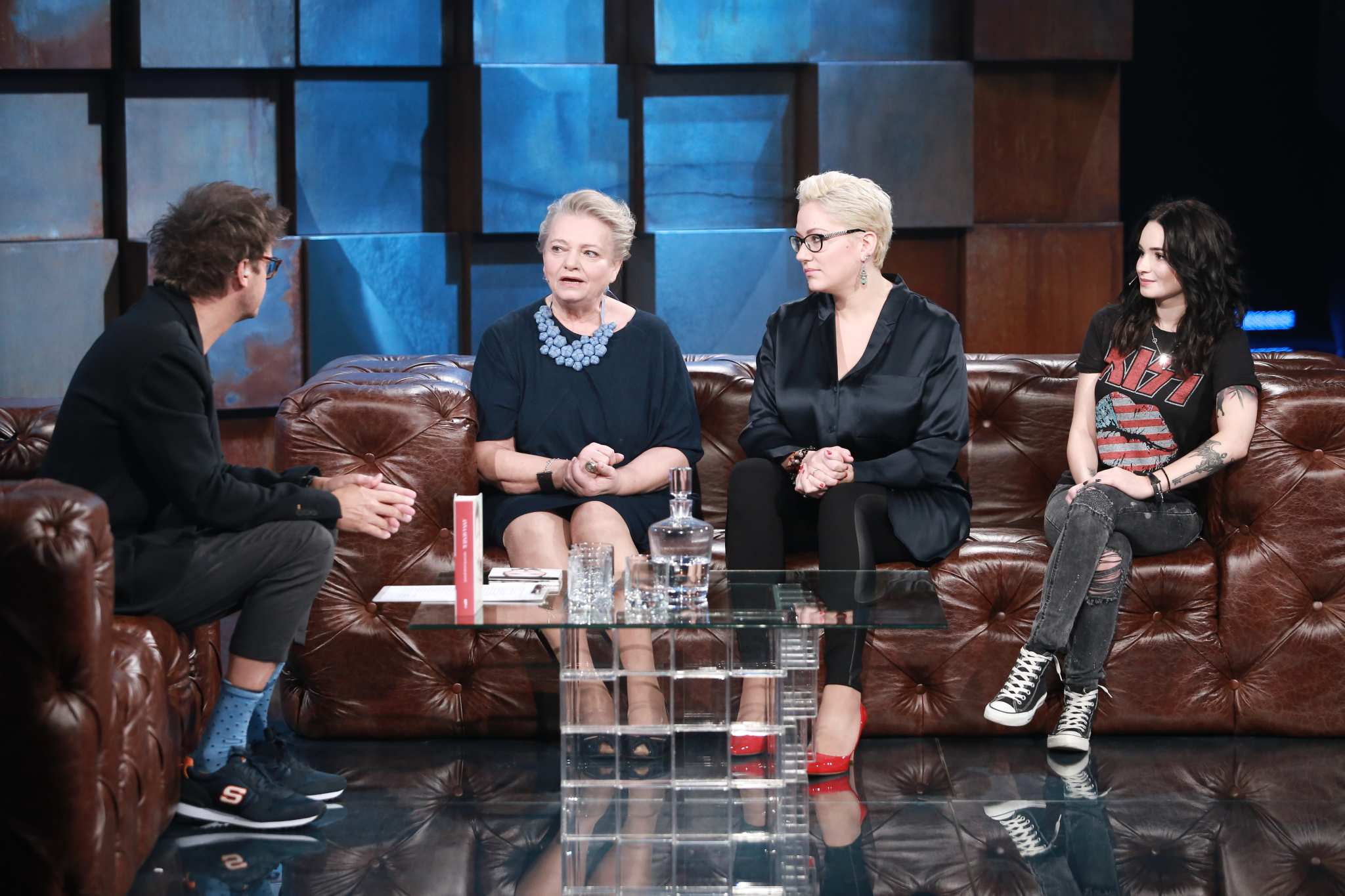 Kuba Wojewódzki, Anna Seniuk, Magdalena Małecka, Ewelina Lisowska
